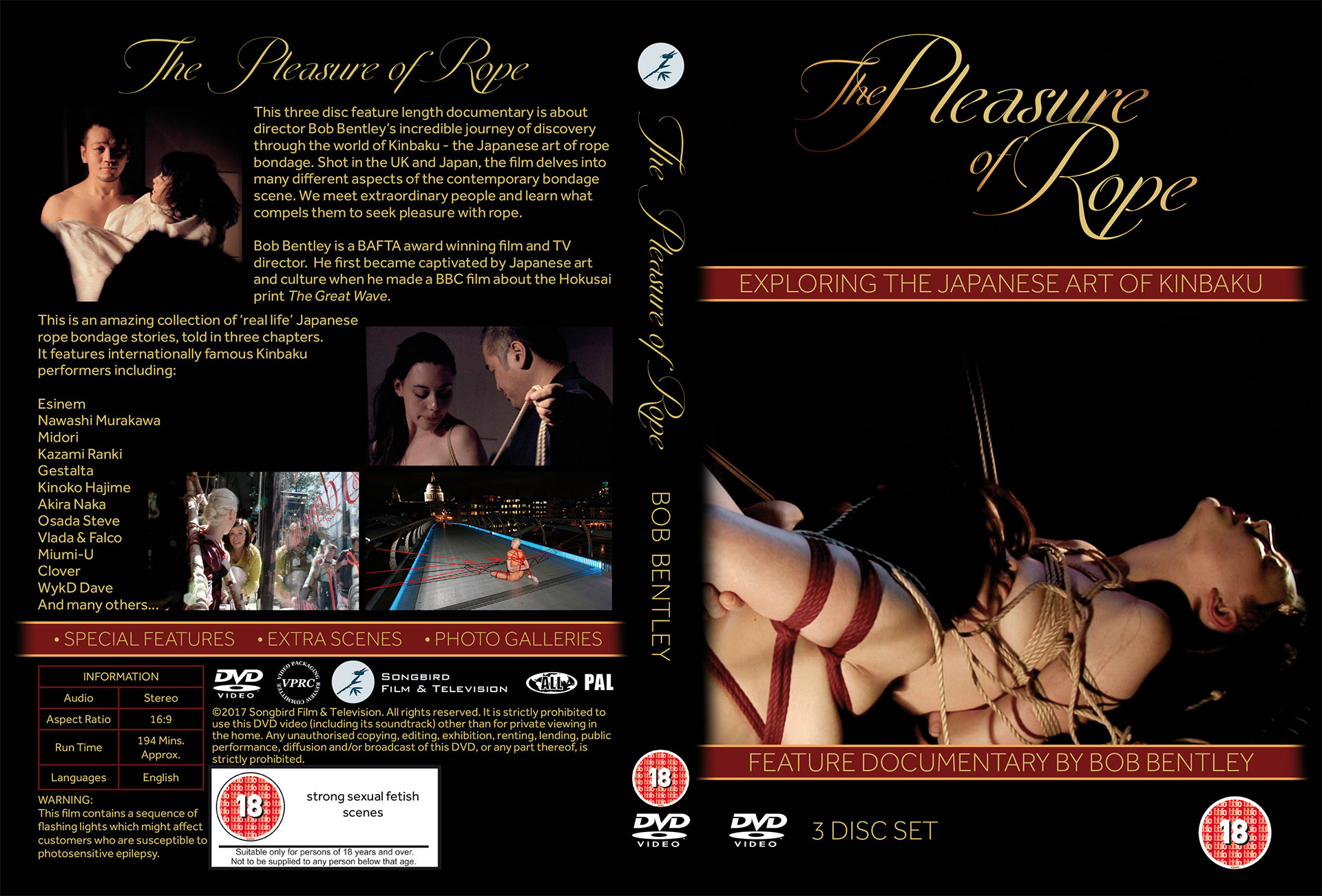 The Pleasure of Rope (extended 3-DVD collector's edition)